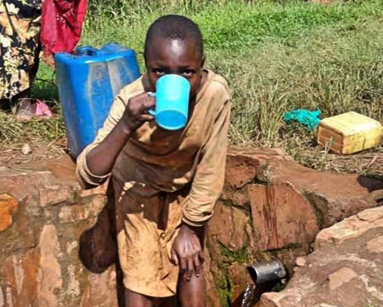 Wasser für Burundi