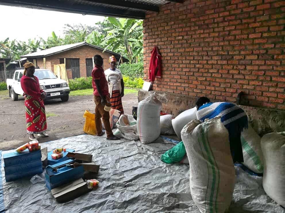 Großer Hunger auch in Gahunga – Abana Baseka hilft